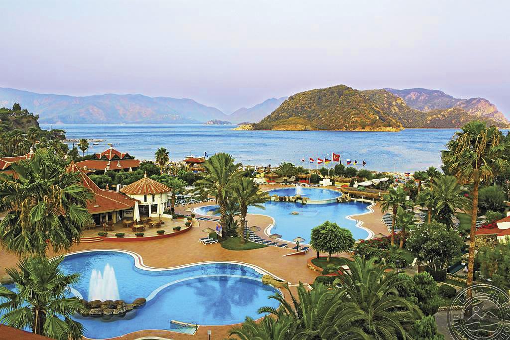 MARTI RESORT 5 *  Один із небагатьох готелів Мармарису, який пропонує систему Ultra All Inclusive. Великий широкий пляж, якісний сервіс і маса можливостей для активного відпочинку дітей та дорослих. Рекомендується для сімейного дозвілля