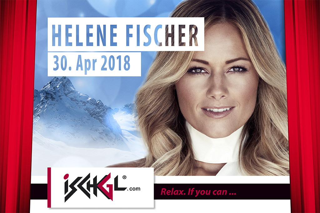 Helene Fischer beim Top of the Mountain Closing Concert 2018 (c) TVB Paznaun - Ischgl
