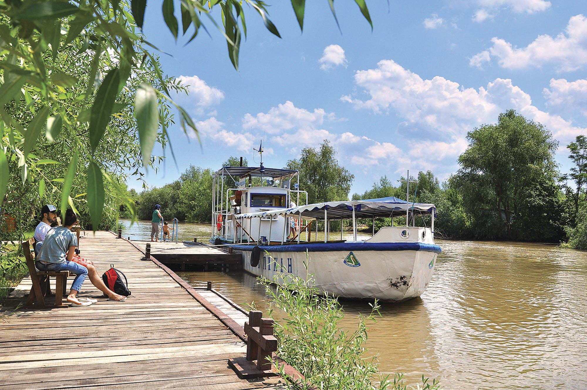 Дунай поблизу Вилкова